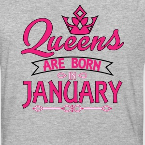 Queens Are Born In Januar T-Shirts - Baseball T-Shirt