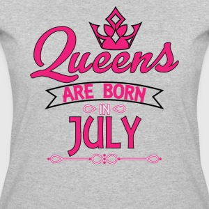 Queens Are Born In July T-Shirts - Women's 50/50 T-Shirt
