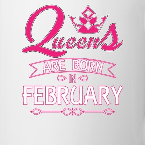 Queens Are Born In February Mugs & Drinkware - Coffee/Tea Mug