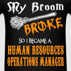 Human Resources Operations Manager - Men's T-Shirt