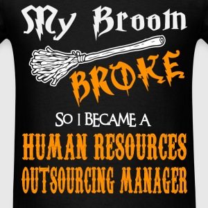 Human Resources Outsourcing Manager - Men's T-Shirt