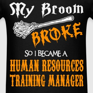 Human Resources Training Manager - Men's T-Shirt