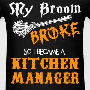 Kitchen Manager - Men's T-Shirt