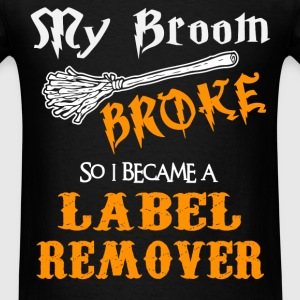 Label Remover - Men's T-Shirt
