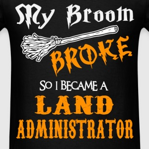 Land Administrator - Men's T-Shirt