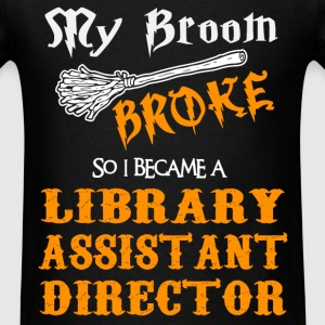 Library Assistant Director - Men's T-Shirt