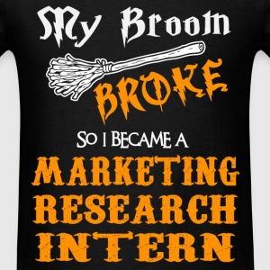 Marketing Research Intern - Men's T-Shirt