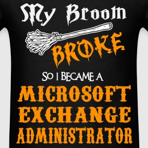 Microsoft Exchange Administrator - Men's T-Shirt