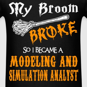 Modeling and Simulation Analyst - Men's T-Shirt