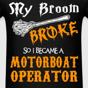 Motorboat Operator - Men's T-Shirt