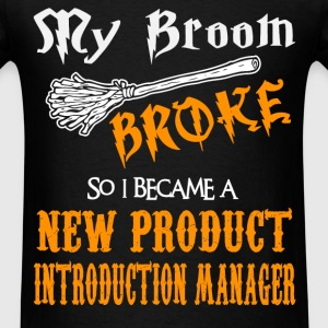 New Product Introduction Manager - Men's T-Shirt