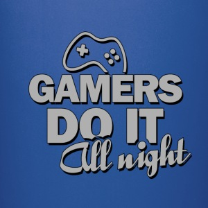 Gamers do it all night - Full Color Mug