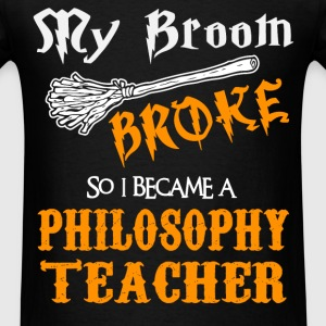 Philosophy Teacher - Men's T-Shirt