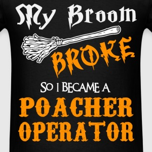 Poacher Operator - Men's T-Shirt