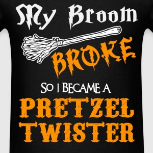 Pretzel Twister - Men's T-Shirt