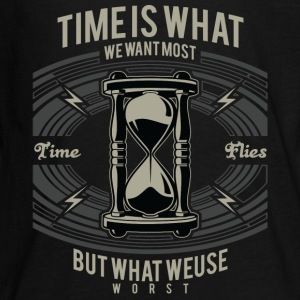 Time Is What We Want Most But What We Use Worst Kids' Shirts - Kids' Premium Long Sleeve T-Shirt
