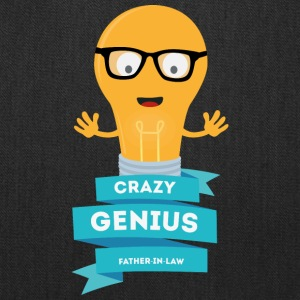 crazy Genius father in law Bags & backpacks - Tote Bag