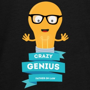 crazy Genius father in law Kids' Shirts - Kids' Premium Long Sleeve T-Shirt