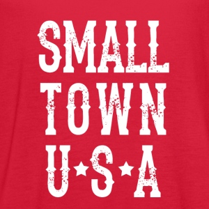 Small Town USA - Women's Flowy Tank Top by Bella
