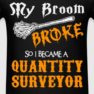 Quantity Surveyor - Men's T-Shirt