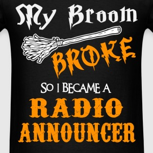 Radio Announcer - Men's T-Shirt