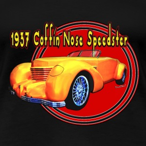 1937 Cord Coffin Nose Speedster Lady's T - Women's Premium T-Shirt