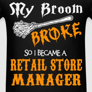 Retail Store Manager - Men's T-Shirt