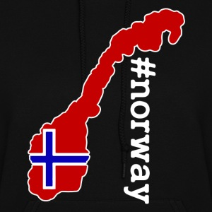 Norway Hastag Shirt - Women's Hoodie