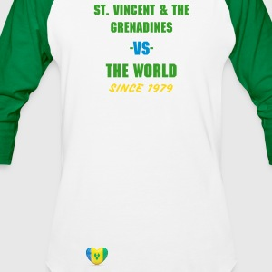St. Vincent and the Grenadines -vs- The World - Baseball T-Shirt