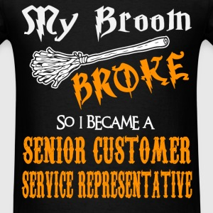 Senior Customer Service Representative - Men's T-Shirt