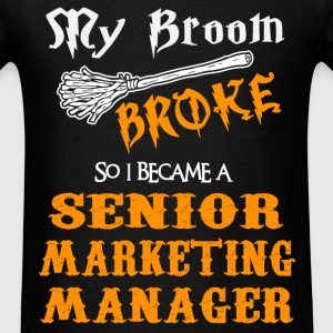 Senior Marketing Manager - Men's T-Shirt