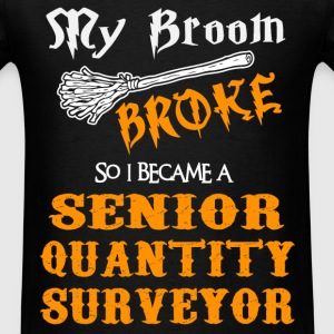 Senior Quantity Surveyor - Men's T-Shirt