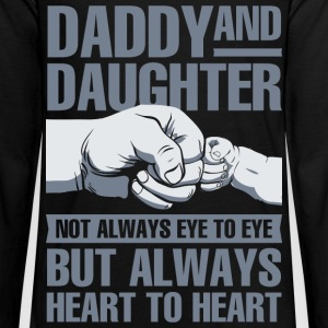 Daddy and Daughter not always eye to eye but alway - Kids' Premium Long Sleeve T-Shirt