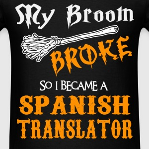 Spanish Translator - Men's T-Shirt