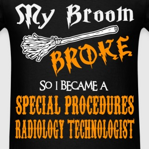 Special Procedures Radiology Technologist - Men's T-Shirt
