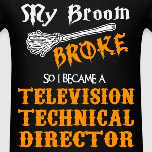 Television Technical Director - Men's T-Shirt