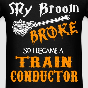 Train Conductor - Men's T-Shirt
