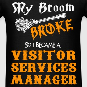 Visitor Services Manager - Men's T-Shirt
