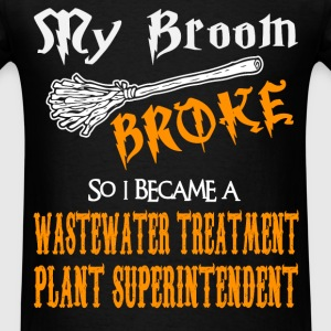 Wastewater Treatment Plant Superintendent - Men's T-Shirt