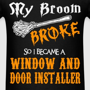 Window and Door Installer - Men's T-Shirt