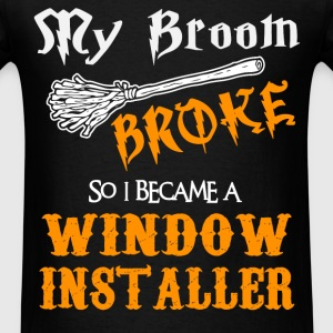 Window Installer - Men's T-Shirt