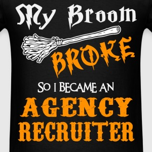 Agency Recruiter - Men's T-Shirt