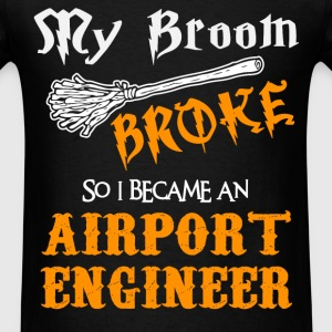 Airport Engineer - Men's T-Shirt