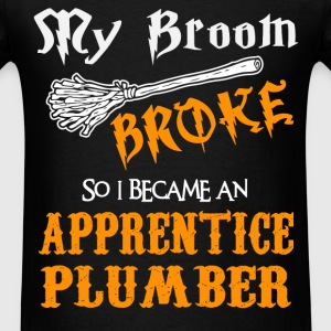 Apprentice Plumber - Men's T-Shirt