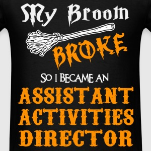 Assistant Activities Director - Men's T-Shirt