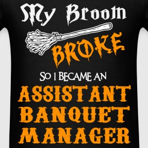 Assistant Banquet Manager - Men's T-Shirt