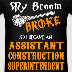 Assistant Construction Superintendent - Men's T-Shirt