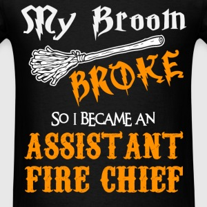 Assistant Fire Chief - Men's T-Shirt