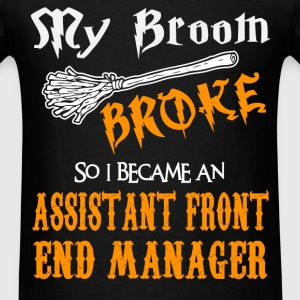 Assistant Front End Manager - Men's T-Shirt