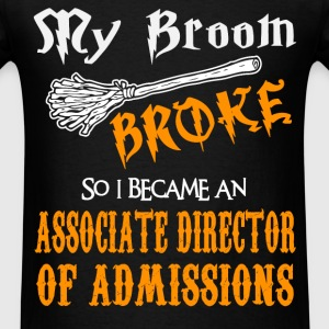 Associate Director of Admissions - Men's T-Shirt